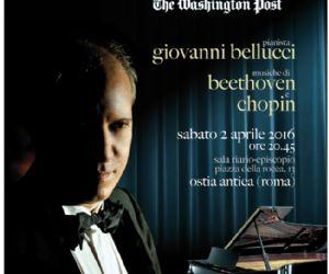 In programma opere di Beethoven e Chopin