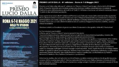 Festival - Premio Lucio Dalla, 8^ edizione