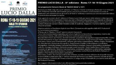 Festival - Premio Lucio Dalla