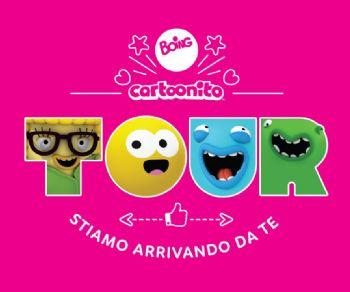 Bambini e famiglie: Arriva il BOING & CARTOONITO TOUR