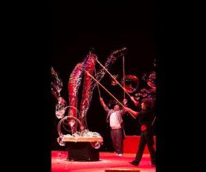 Uno spettacolo di danza e circo, dal forte apporto energetico