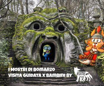 Bambini - Picnic, Mostri e Magie nel Sacro Bosco di Bomarzo