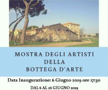 Verranno esposti i quadri degli allievi della scuola Bottega d'Arte ANR di Roma
