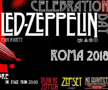 Concerti - Led Zeppelin Fan Celebration Day 2018