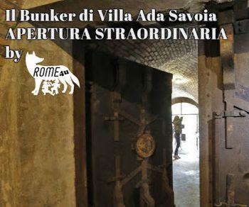 Visite guidate - Il Bunker di Villa Ada Savoia