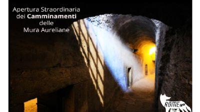 Visite guidate - Apertura straordinaria dei Camminamenti di Ronda delle Mura Aureliane