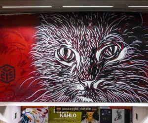 Un inedito tour nella Stazione Metro Spagna (linea A), all'insegna della street art