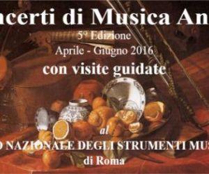 Rassegne: Concerti di musica antica e visite guidate al Museo Nazionale degli Strumenti Musicali