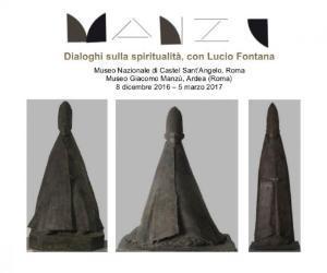 Mostre - Manzù. Dialoghi sulla spiritualità, con Lucio Fontana