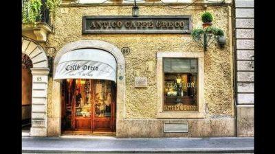 Visite guidate: L'Antico Caffè Greco e gli altri caffè letterari