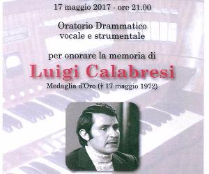 Concerti - Commemorazioni commissario Luigi Calabresi