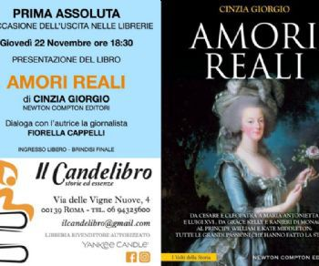 Libri - Amori reali al Candelibro