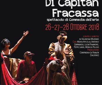 Spettacoli - Il nuovo viaggio di Capitan Fracassa