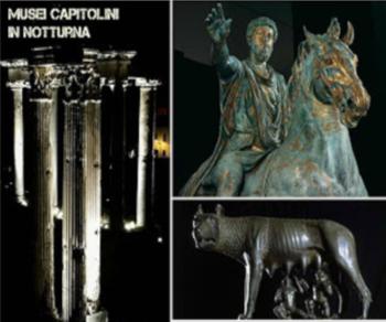 Visite guidate - I Musei Capitolini in notturna