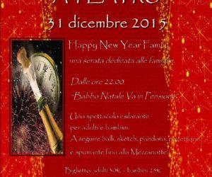 Capodanno al teatro Furio Camillo, una serata dedicata alle famiglie