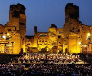 Stagione estiva alle Terme di Caracalla del Teatro dell' Opera di Roma