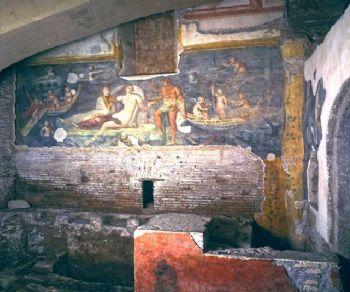 Visite guidate: Domus romane del Celio: splendidi affreschi dell'antica Roma