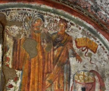 Visita guidata alla basilica sotterranea paleocristiana del IV sec. e ai suoi splendidi affreschi
