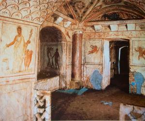 Visite guidate: I sotterranei affrescati della via Latina