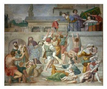 La Chiesa, i vicoli e le piazze circostanti