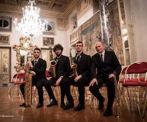 Concerti - Alfredo Santoloci col Cecilia Saxophone Quartet