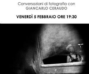 Incontro con il fotografo Giancarlo Ceraudo