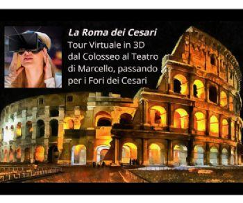 Visite guidate: La Roma dei Cesari fra realtà e ricostruzioni virtuali in 3D