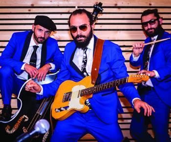 Locali - Bevo solo Rock'n Roll: Cherry Pie Trio in concerto