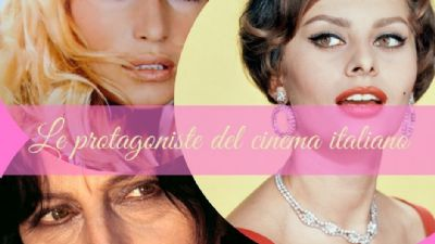 Appuntamenti virtuali: Le protagoniste del Cinema italiano
