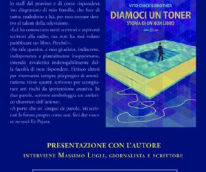 Vito Cioce e Massimo Lugli alla libreria Spizzichi d'Autore