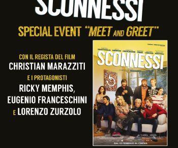 """Altri eventi: Christian Marazziti, Ricky Memphis e il cast di """"Sconnessi"""" incontrano i fan"""