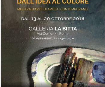 Gallerie - Dall'idea al colore