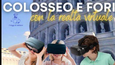Visite guidate - Dal Colosseo ai Fori con i visori della realtà virtuali