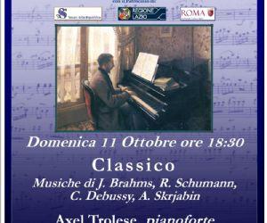 Musiche di J. Brahms, R. Schumann, C. Debussy, A. Skrjabin