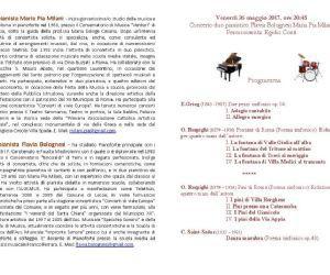 Concerti: Concerto duo pianistico Bolognesi Milani