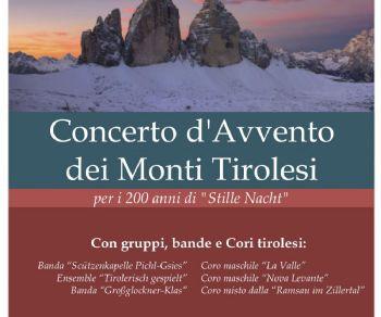 Concerti - Concerto d'Avvento dei monti tirolesi