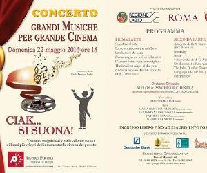 Concerti: Ciak… si suona! Grandi Musiche per Grande Cinema