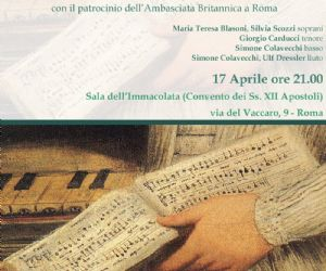 Emma Kirkby in concerto a Roma