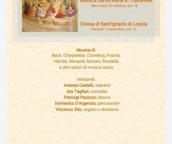 Concerti: Concerto per Ognissanti XVª  edizione