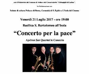 Concerti: Concerto per la pace