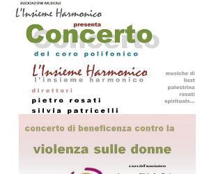 """Concerto del coro polifonico """"L'insieme Harmonico"""""""