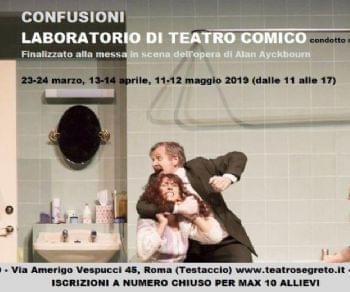 Attività - Laboratorio di Teatro Comico