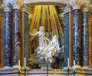 Visita guidata alla chiesa e al mastrpiece del Bernini