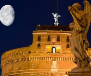 Visita guidata serale con viste panoramiche su Roma notturna