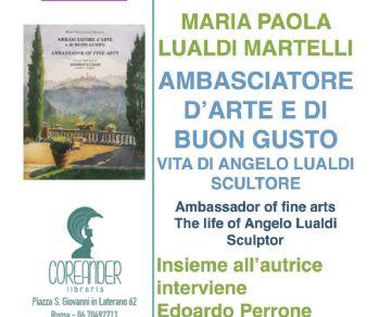 Libri - Ambasciatore d'arte e di buon gusto - Vita di Angelo Gualdi, scultore