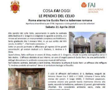 Visita guidata gratuita dei tre oratori (Santa Barbara, Sant'Andrea e Santa Silvia)