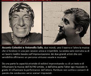 Ascanio Celestini & Antonello Salis al teatro Vascello