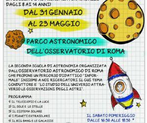 Scuola di astronomia per ragazzi dagli 8 ai 14 anni