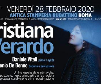 Concerti - Cristiana Verardo LIVE