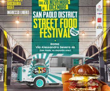 Sagre e degustazioni - Festival dello Street Food a San Paolo District